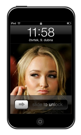 Designing iPod Touch in GIMP