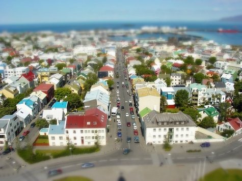 Fake Tilt Shift