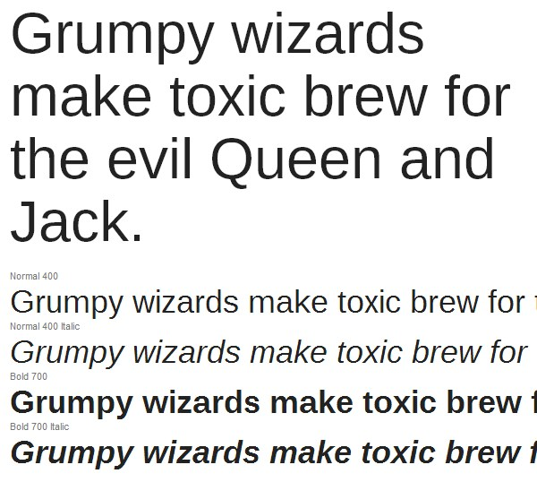 how to use google web fonts