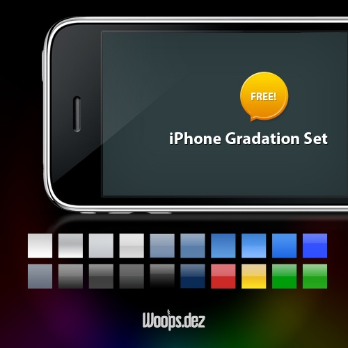 iPhone Gradation Set