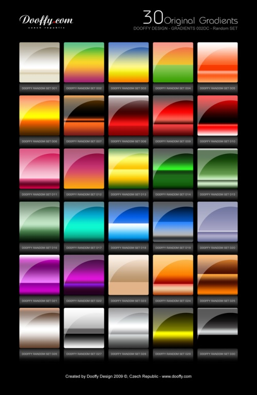 Doofy Gradients Set 002