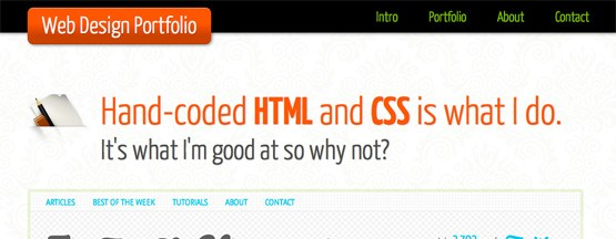 Code a Backwards Compatible, One Page Portfolio with HTML5 and CSS3