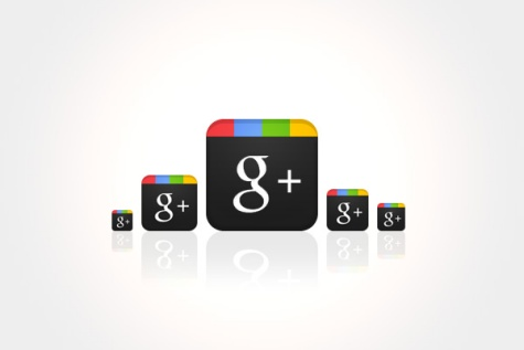 Design a Sleek Google+ Icon