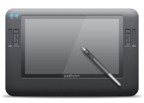 Creating a Digital Tablet Icon