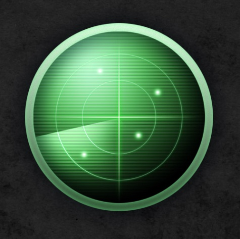 How to Create a Vibrant Radar Icon in Photoshop