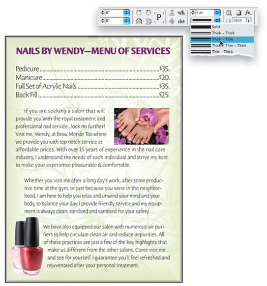 Text Wrap and Text Format in InDesign
