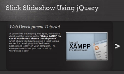 Create a Slick and Accessible Slideshow Using jQuery Tutorial