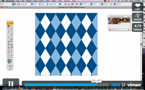 How to Import Pattern Swatches into Illustrator