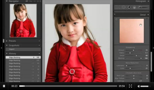 Sharpening Workflow in Lightroom