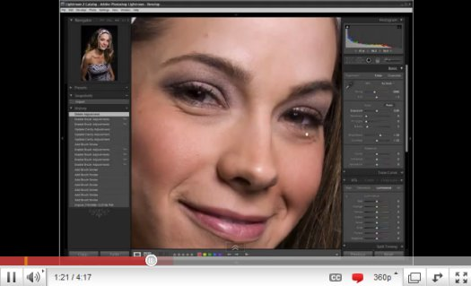 Lightroom 2 Tutorial: Soften Skin