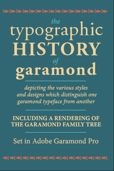 the impact of claude garamond on the world of typography Claude garamond came to prominence in 1541, when three of his typefaces were requested for a royally ordered book series the french court later adopted garamond's roman type (the basic, non-italic alphabet) for all its printing, and his influence spread across france and western europe garamond's elegant, classical.