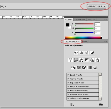A Basic Guide to Photoshop CS4 Adjustment Layers