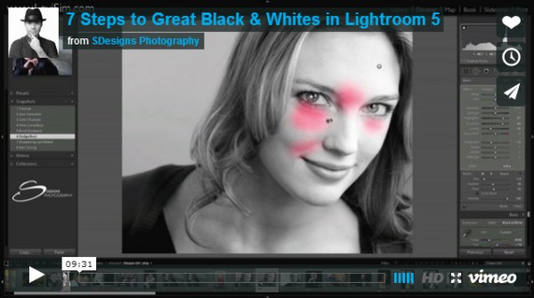 7 Steps to Great Black & Whites in Lightroom 5