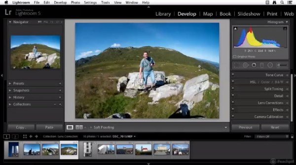 Lens Corrections in Lightroom 5