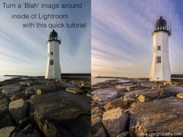 Turning a Blah Image Around Inside Lightroom 5
