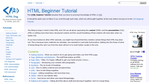 HTML Beginner Tutorial Series