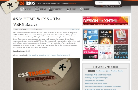 HTML and CSS - The VERY Basics