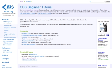 CSS Beginner Tutorial Series