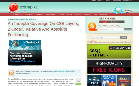 An In-Depth Coverage on CSS Layers, Z-Index, Relative and Absolute Positioning