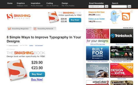 8 Simple Ways to Improve Typography in Your Designs