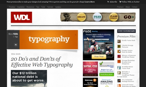 20 Do's and Don'ts of Effective Web Typography