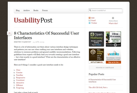 8 Characteristics of Successful User Interfaces