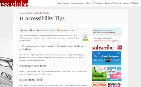 11 Accessibility Tips