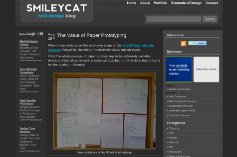 The Value of Paper Prototyping