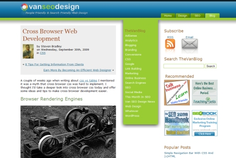 Cross Browser Web Development