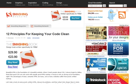 12 Principles for Keeping Your Code Clean