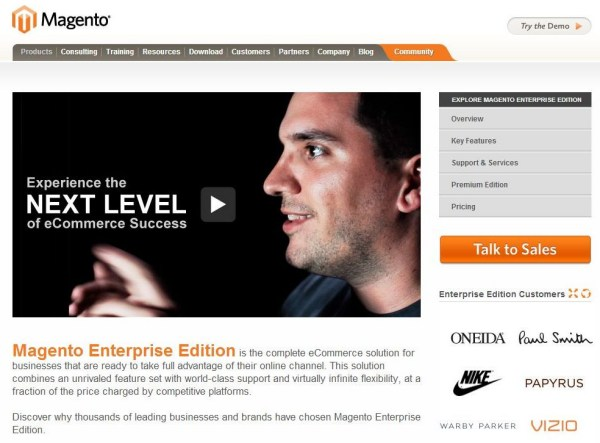 Magento Enterprise