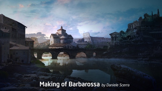 Matte Painting: Making of Barbarossa