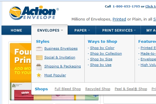 Action Envelope