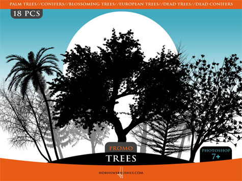 Trees Promo Brush Pack
