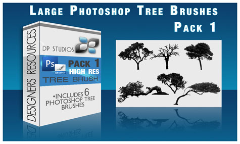 Tree Brushes Pack 1