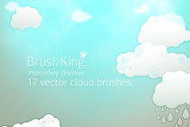 BK Cloud Vector Brushes