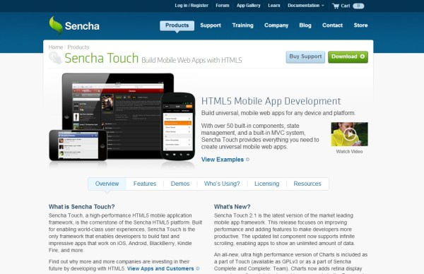Sencha Touch
