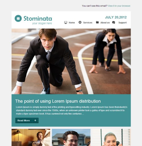 Stominata Email Template