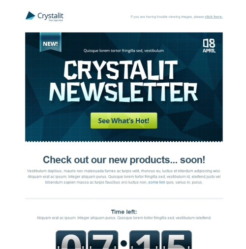 Crystalit Newsletter