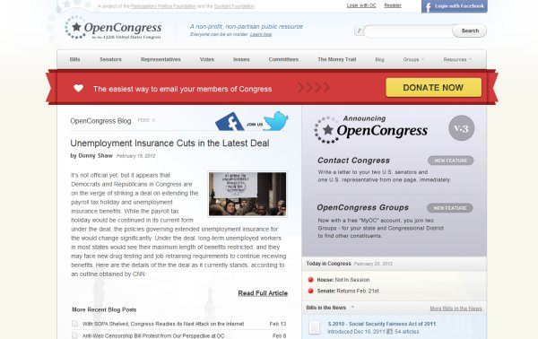 Open Congress