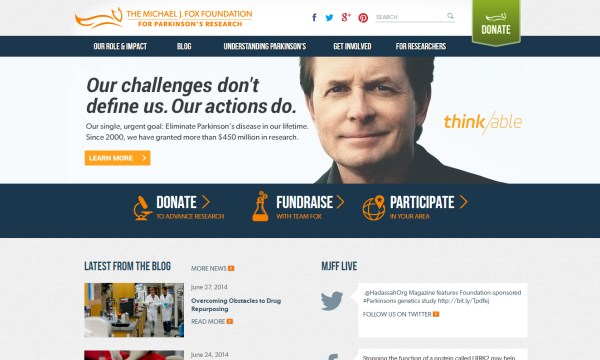 40 Of The Best Websites Of Non Profit Organizations