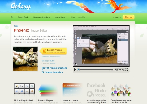 Phoenix (from Aviary)  Best Online Photo Editing Websites Free