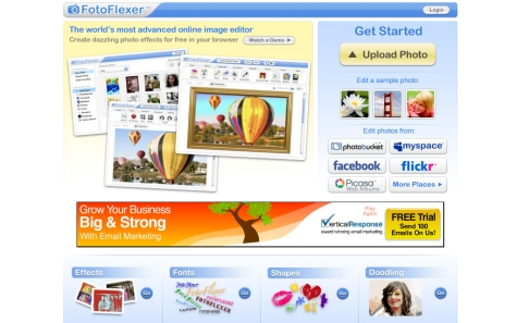 FotoFlexer Best Online Photo Editing Websites Free