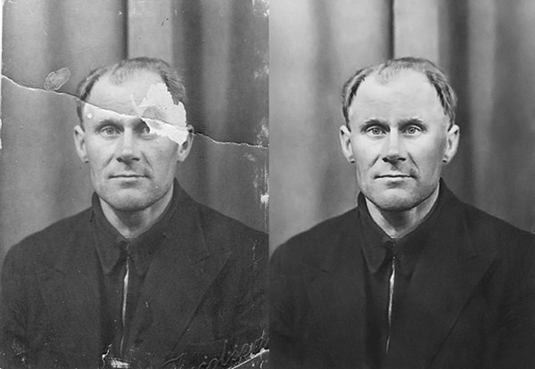 Profession Photograph Restoration Workflow