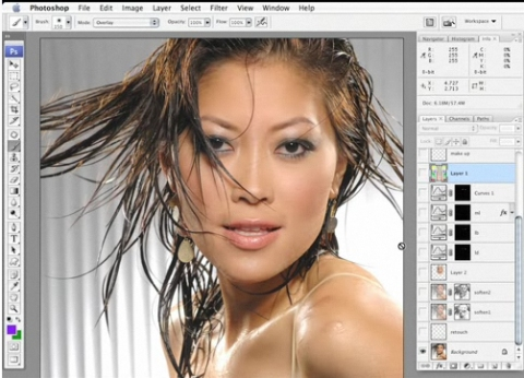 Masking Hair in Photoshop CS3 (video)