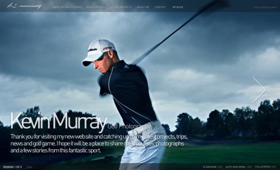 Kevin Murray Golf Photography