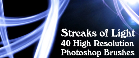 Streaks of Light Brushes