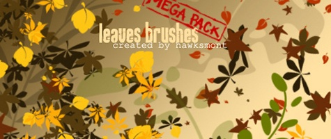 Leaves Brushes
