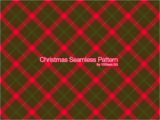 Create a Seamless Pattern Tile for Christmas