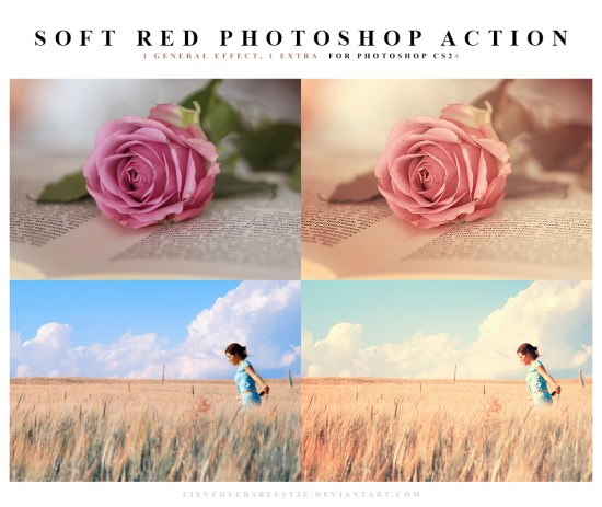 Soft Red Actions